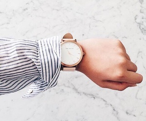 blouses, minimalism, and watches image