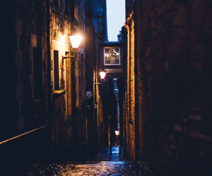 alley, architecture, and edinburgh image