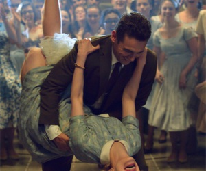 dance, james franco, and couple image