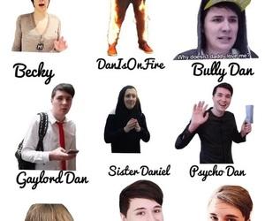 youtube, danisnotonfire, and dan howell image