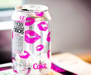 coke, kiss, and pink image
