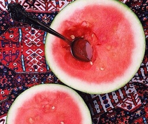cold, juicy, and watermelon image