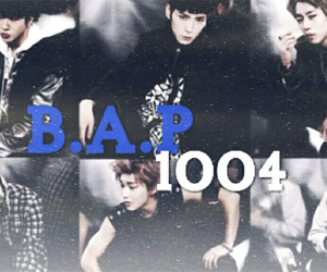 weheartit, b.a.p, and youtube image
