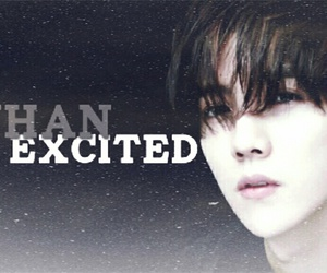 excited, weheartit, and xiao image