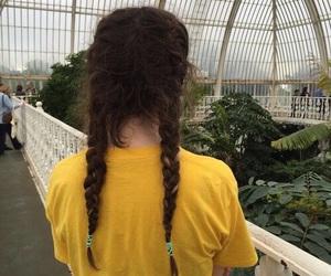 yellow, hair, and tumblr image