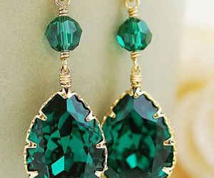 beautiful, emerald, and nice image