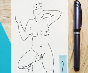 etsy, naked, and Nude image