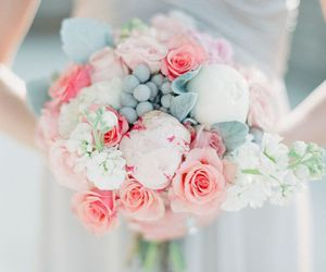 cute, beautiful, and bouquet image