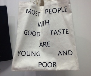 bag, grunge, and quotes image
