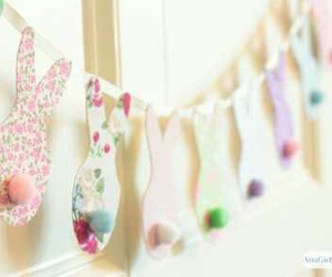 bunny, colors, and crafts image