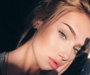 art, blonde, and eyes image