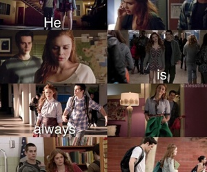 dylan, lydia, and teen wolf image