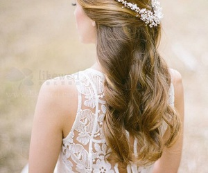 hairstyle and wedding image