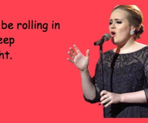 Adele, card, and day image