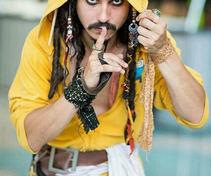 cosplay and jack sparrow image