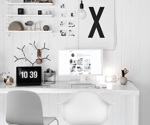 home, white, and black image