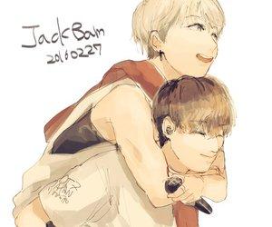fanart, jackson, and bambam image