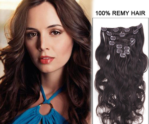 hair extensions, human hair, and feshfen image