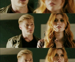 clary and jace, clace, and shadowhunters image