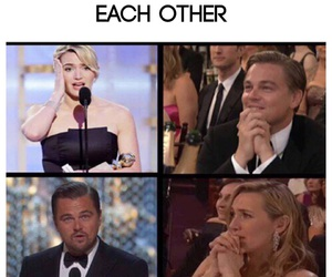 kate winslet, leo and kate, and oscars image