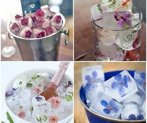 ice, diy, and flower image