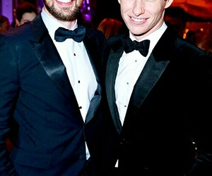 chris evans, eddie redmayne, and oscar image