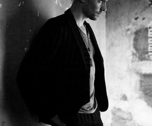 tom hiddleston, black and white, and sexy image