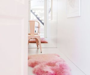 pink, home, and house image