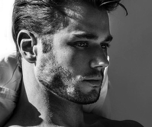 black and white, Hot, and model image