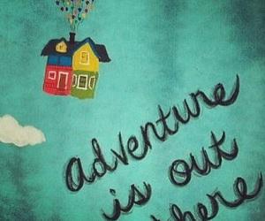 up, adventure, and disney image