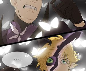 miraculous ladybug, Chat Noir, and Adrien image