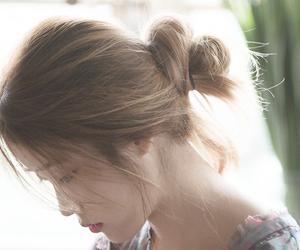 iu, kpop, and hair image