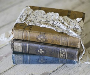 books and lace image