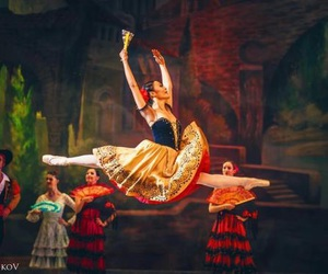 ballerina, ballet, and performance image