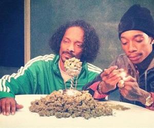 weed, wiz khalifa, and snoop dogg image