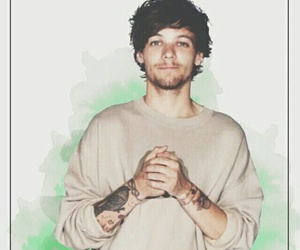 one direction, louis, and wallpaper image