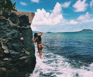 summer, beach, and body image