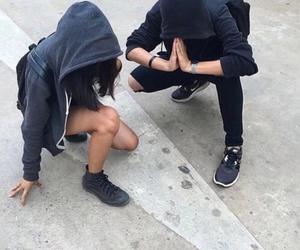 grunge, black, and boy image