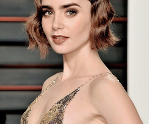 after party, lily collins, and tumblr girl image