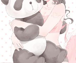 anime, art, and baby girl image