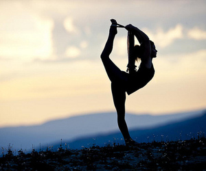 yoga, dance, and fitness image