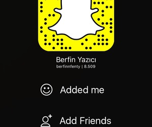 follow me, add me, and snapchat image