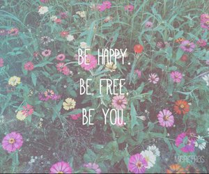 flowers, free, and happy image
