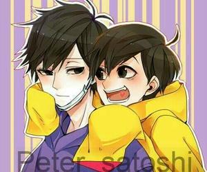 art, cute, and osomatsu-san image