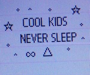 grunge, cool, and sleep image