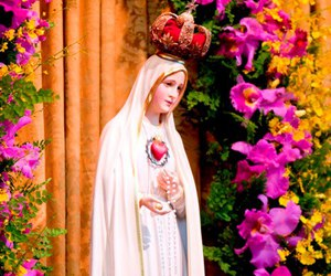 Virgin Mary, our lady of fatima, and veneration image