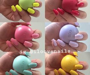 nails, eos, and fashion image