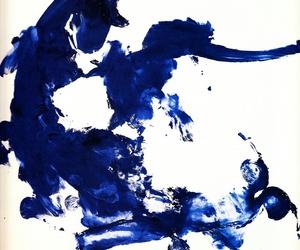 monochrome, art, and Yves Klein image