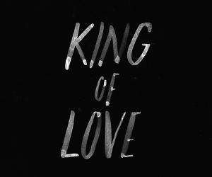love, jesus, and king image