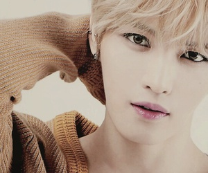 blond, hair, and jaejoong image